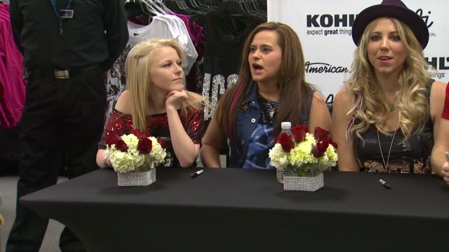 hollie cavanagh skylar laine and elise testone at american idol season 11 contestants appear at los angeles kohl's for american idol's 'authentic... - american idol stock videos and b-roll footage
