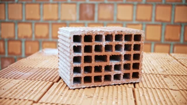 ds hollow brick - brick stock videos & royalty-free footage