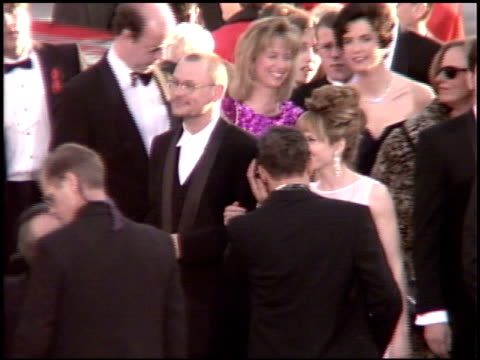 holly hunter at the 1995 academy awards arrivals at the shrine auditorium in los angeles, california on march 27, 1995. - 67th annual academy awards stock videos & royalty-free footage