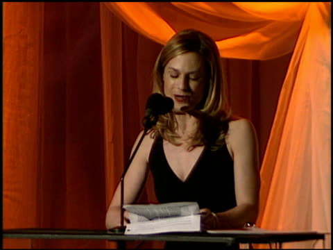 vidéos et rushes de an evening for the purnell center for the arts at the beverly hilton in beverly hills california on march 4 1997 - holly hunter
