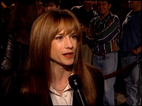 Holly Hunter at the 'Home for the Holidays' Premiere at Paramount Studios in Hollywood California on October 30 1995