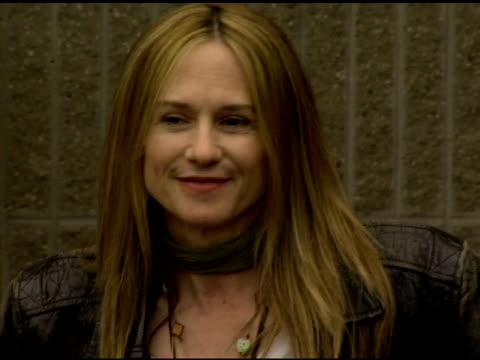 Holly Hunter at the 'Minis First Time' Premiere at the 2006 Tribeca Film Festival at Pace University's Schimmel Center for the Arts in New York New...