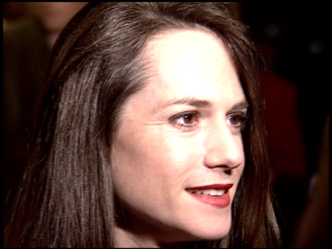 Holly Hunter at the Premiere of 'The Piano' on November 17 1993