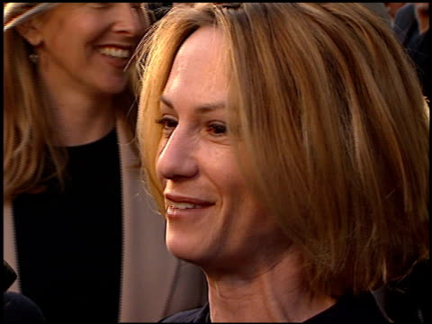 Holly Hunter at the Premiere of 'The Truman Show' at National Theater in Westwood California on June 1 1998