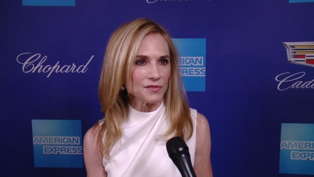 INTERVIEW Holly Hunter on acting and the importance of present day in history at the 29th Annual Palm Springs International Film Festival Awards Gala...