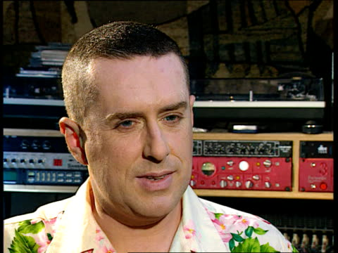 holly johnson comeback; holly johnson interview sot - feel well, working 10-12 hours a day/ enjoy time that i'm here/ great admirer of derek jarman/... - no doubt band stock videos & royalty-free footage