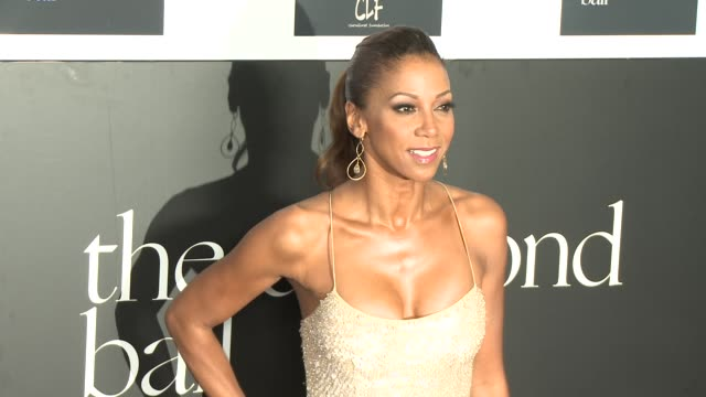Holly Robinson Peete at the 2nd Annual Diamond Ball at Barker Hangar on December 10 2015 in Santa Monica California