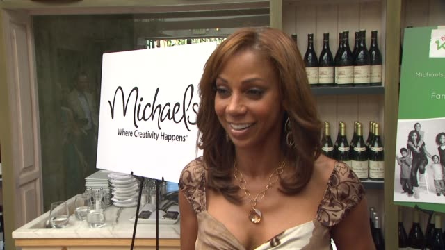 Holly Robinson Peete Michaels Host Luncheon To Announce The Launch Of Family Craft Night Benefitting The Hollyrod Foundation Los Angeles CA United...
