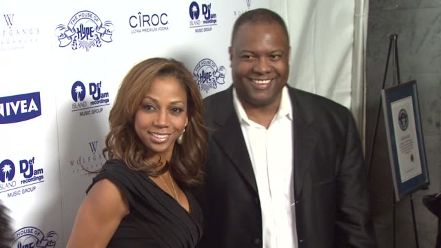 Holly RobinsonPeete and Rodney Peete at the NIVEA at the Island Def Jam 2009 GRAMMY's After Party at Los Angeles CA