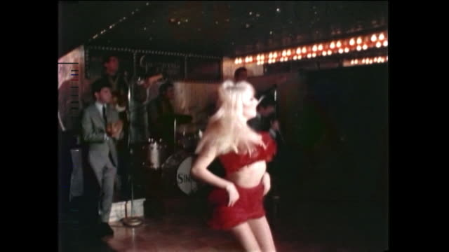 s hollywood a go go club sunset strip people dancing in nightclub - hollywood california stock videos & royalty-free footage