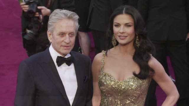 hollywood a listers michael douglas and catherine zeta jones have decided to take a break from their 13 year marriage a spokesman said wednesday.... - michael douglas stock videos & royalty-free footage
