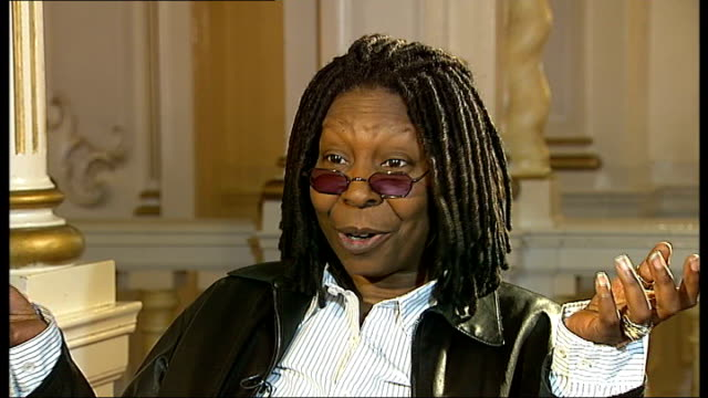 Hollywood actress Whoopi Goldberg to coproduce stage version of 'Sister Act' * * Soundtrack of 'Sister Act' heard during the following shots SOT * *...