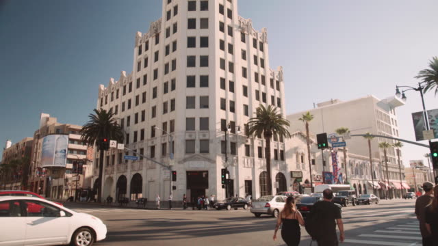 Hollywood blvd and Highland Blvd in Los Angeles