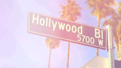 vídeos y material grabado en eventos de stock de hollywood boulevard - los angeles - paseo de la fama