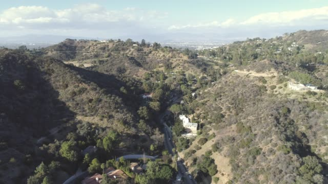 Hollywood Hills-Antenne