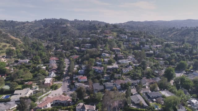 Hollywood Hills Aerial
