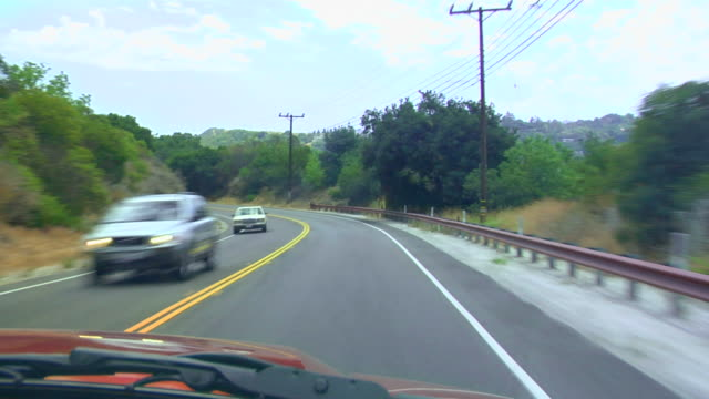 hollywood hills - telegraph pole stock videos and b-roll footage