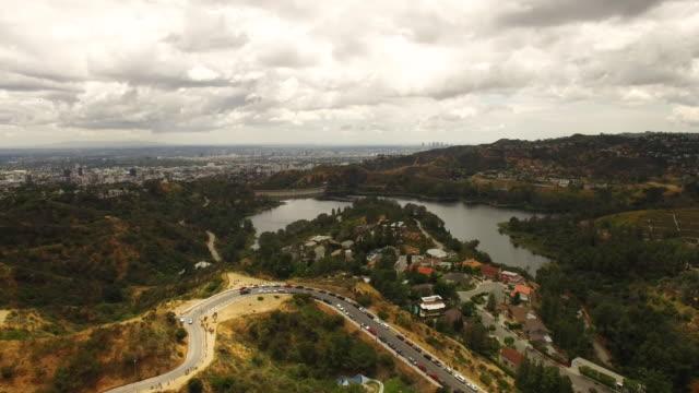 Antenne de Lake Hollywood