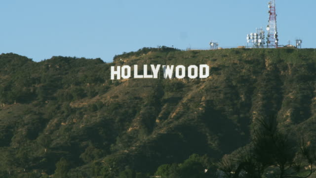 WS Hollywood sign on Hollywood Hills, California, USA