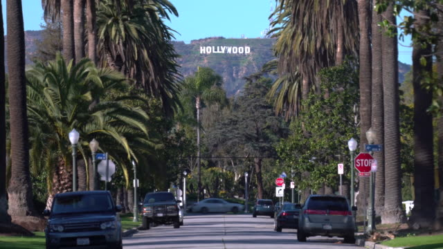 vídeos y material grabado en eventos de stock de hollywood sign - los ángeles