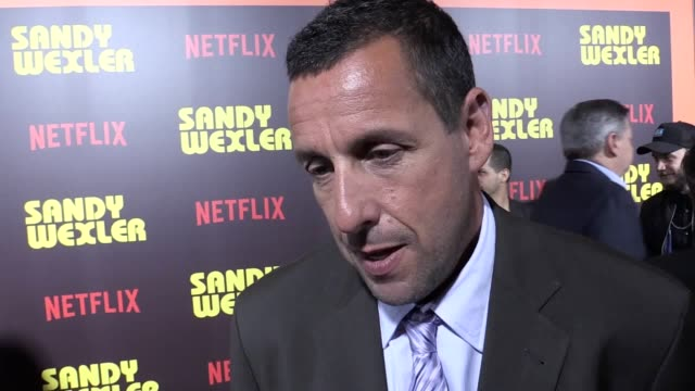 hollywood star adam sandler has predicted critics will dislike his new netflix movie the 50yearold actor leads a starstudded cast in sandy wexler a... - adam sandler stock videos & royalty-free footage