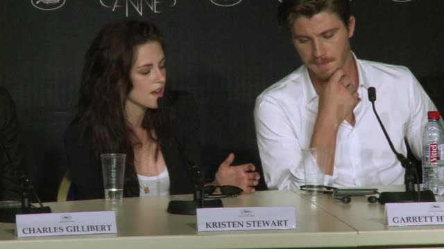 hollywood star kristen stewart said wednesday that after the twilight vampire movies she had thrown herself into the carefree sexuality of her new... - kristen stewart stock videos and b-roll footage