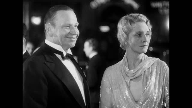 hollywood steps out! - 1930 video stock e b–roll