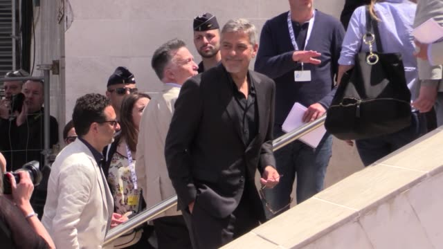 Hollywood superstars Julia Roberts George Clooney Dominic West and more attends the PhotoCall of Money Monster at the Cannes Film Festival 2016...