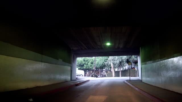 vídeos y material grabado en eventos de stock de hollywood paso subterráneo - siniestro