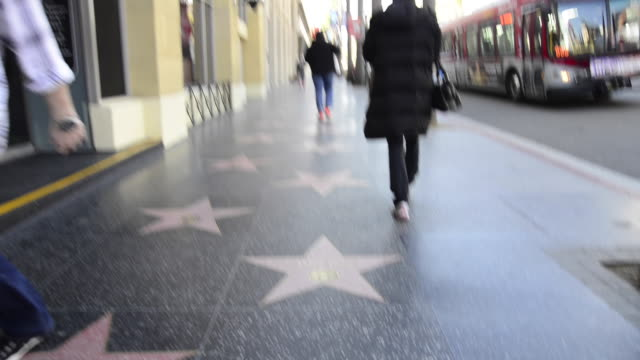 stockvideo's en b-roll-footage met hollywood walk of fame - hollywood walk of fame