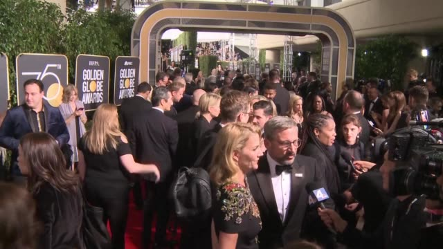 Hollywood's elite turn the red carpet black at the Golden Globes the glitzy launch of the entertainment industry's awards season with sexual...
