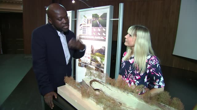 Holocaust memorial design announced ENGLAND London INT Sir David Adjaye interview SOT
