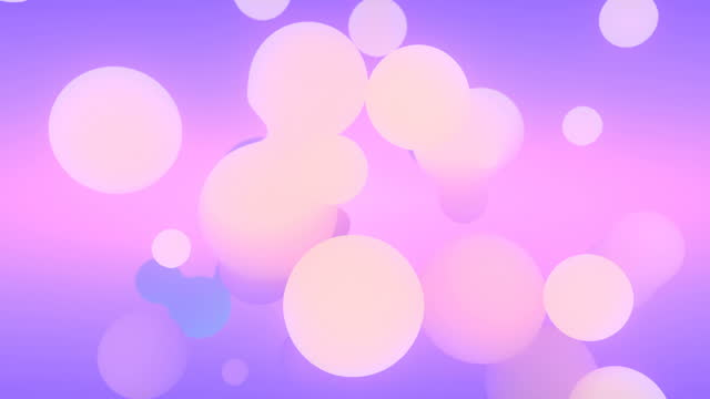 holographic floating liquid blobs, metaballs for motion graphic design. digital seamless loop animation. 3d rendering. 4k, ultra hd resolution - motion graphics stock videos & royalty-free footage