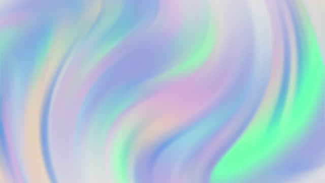 holographic twisted gradient abstract backgrounds - spectrum stock videos & royalty-free footage