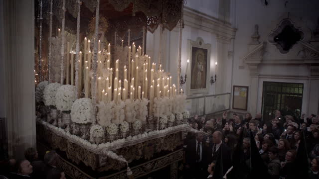 holy week celebrations, spain - holy week stock videos & royalty-free footage