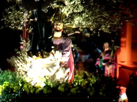 holy week in spain - religion stock videos & royalty-free footage