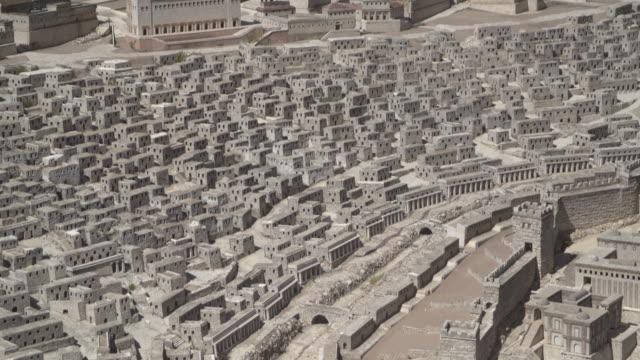 vidéos et rushes de holyland model of jerusalem 4 - temple