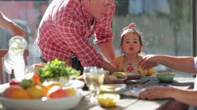 home al fresco dining - leisure activity stock videos & royalty-free footage