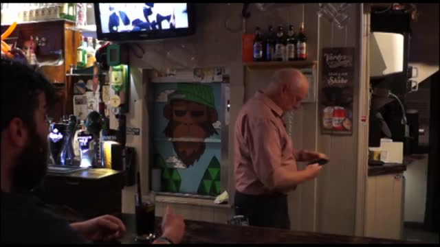 home and away star ray meagher, or alf stewart to fans of the show, took the opportunity to show off his bartending skills on a recent trip to cork.... - soap opera stock videos & royalty-free footage