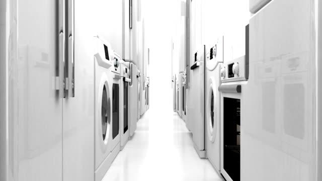 vídeos y material grabado en eventos de stock de para electrodomésticos - electrodoméstico