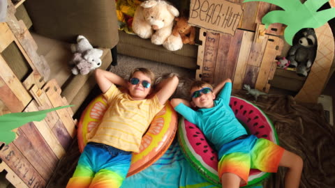 home beach boys relax - fortress stock videos & royalty-free footage