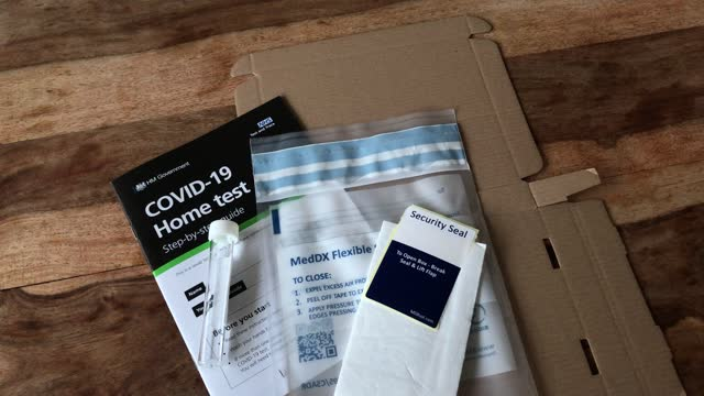 GBR: COVID-19 Home Testing Kit
