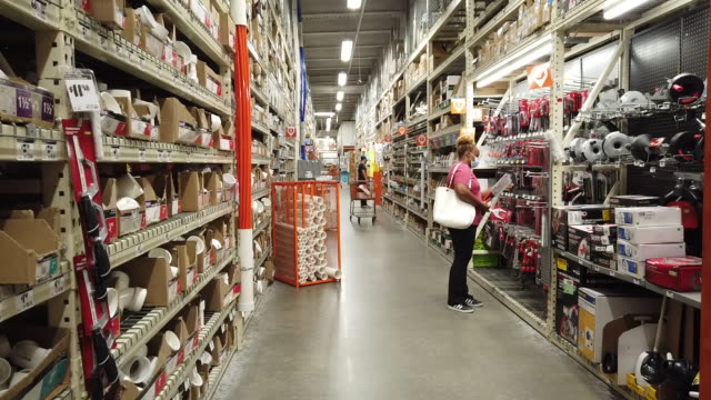home depot is scheduled to release earnings figures. in jersey city, new jersey, u.s., on friday, august 14, 2020. - orthographic symbol stock videos & royalty-free footage