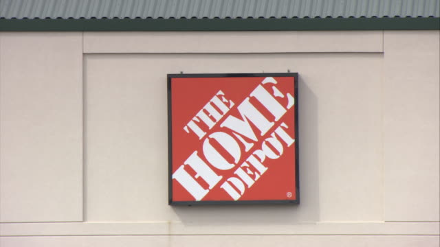 cu home depot store sign hawthorne new york usa