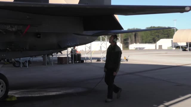 a home grown exercise allowing pilots from seymour johnson afb and other military members in the surrounding area to train in a realistic warfighting... - military exercise stock videos and b-roll footage