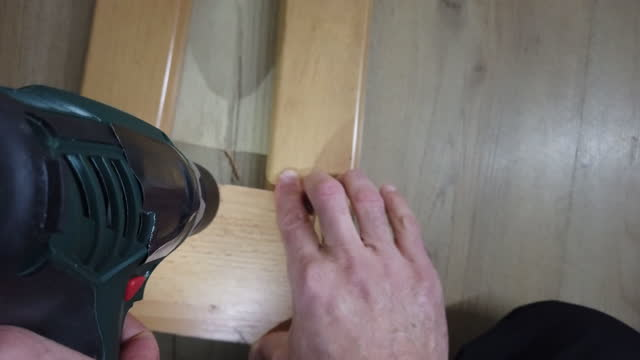 diy. home improvement. point of view while repairing things at home. point of view of an active man working while staying at home during covid-19 pandemic. - household equipment stock videos & royalty-free footage