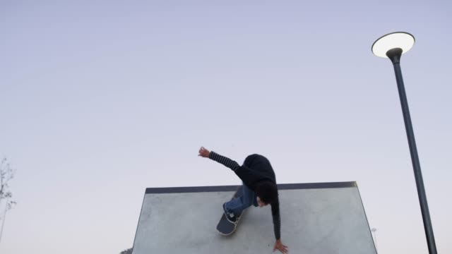 home is where your skateboard is - skateboard park stock videos & royalty-free footage