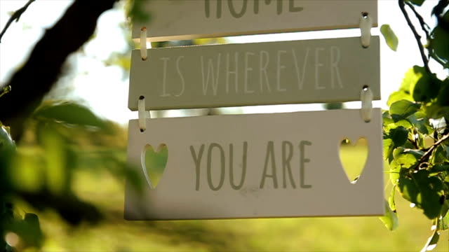 Home is wherever you are-motivational love message