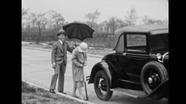 home life, 1930 - ford motor company stock videos and b-roll footage