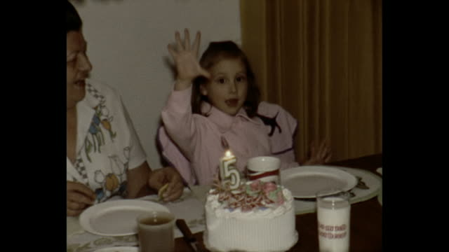 1975 Home Movie - 5 year old girl's birthday party